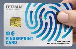 Feitian Fingerprint Payment Card