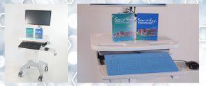 KSI Workstation On Wheels Security Keyboards