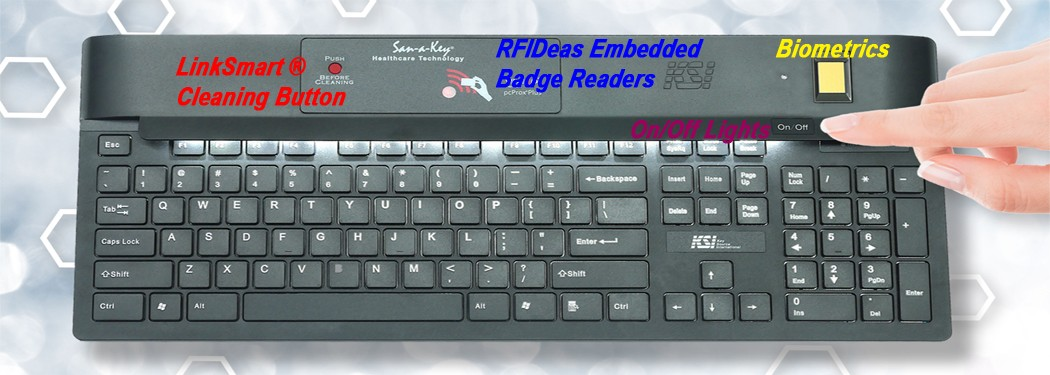 KSI Medical Security Keyboards