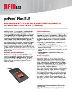 RFIDeas pcprox plus BLE