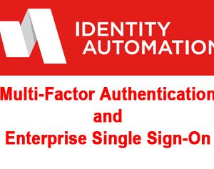 Identity Automation MFA Plus SSO Single Sign-On software
