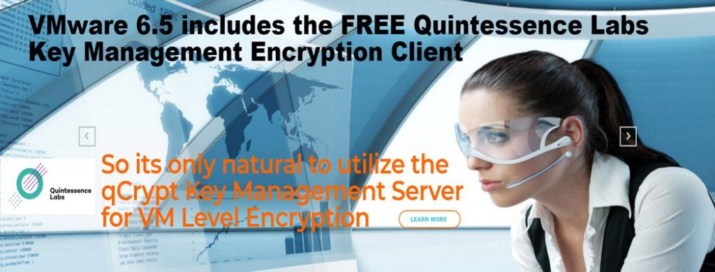 VMware key encryption management